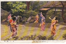 Vintage Japanese Postcards / A few postcards of old Japan