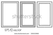 Vector frame and elements