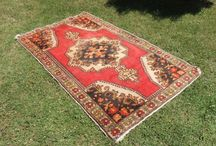 Handmade vintage rugs and kilims / Handmade vintage and antique area rugs and kilims with tons of varieties such as colorful, bright, simple, classy, bohemian, shaggy etc.