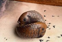 netsuke - animals / netsuke a drobné plastiky