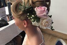 Pamper & Polish Bridal hairdoo's / Pamper & Polish hairdoo's