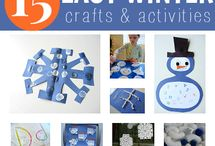 Winter Crafts / by Mary Lou Walter Calandrella