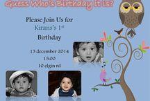 1st owl birthday