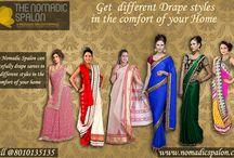 gracefully Drape sarees