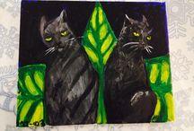 My art / Paintings etc