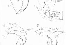 How draw animals