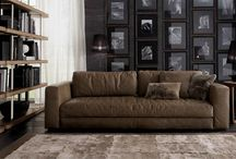 Ulivi - In Showroom / Based in Italy, Ulivi was founded in 1972 and has become a leader, both in design and quality, as a manufacturer of fine leather furniture. Ulivi also uses naturally tanned and finished leathers in their production.