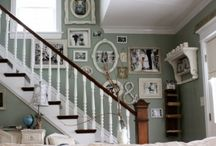 Interiors : Stair landings and stair decor ideas
