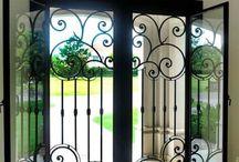 DOORS Wrought iron