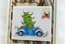 Cards- StampingBella - Christmas