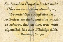 Zitate / Schöne Zitate, die mich inspirieren :)