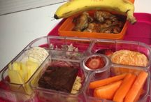 Healthy Lunch Box Inspiration / Lunch Boxes filled with healthy foods designed to help with positive mood, learning and behaviour.