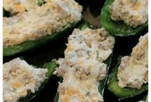 Stuffed Jalapeños / Stuffed Jalapeños / by EQUIP2SURVIVE