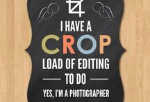 Photography Humor / Sometimes, as a photographer, all you can do is laugh at the situation you find yourself in.