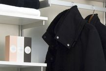 Closet / Rakks shelving gives your closet the perfect blend of style and functionality. / by Rakks Shelving