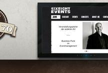 Werkstücke / Webseiten, die bei uns im Werk 7o entstanden sind.