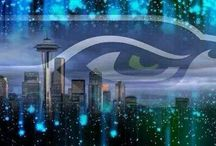 Seahawks / by Angie Eiter