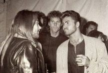 Axl Rose & George Michael, 1991