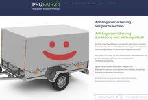 Versicherungsvergleiche kommen unter den Hammer! / Bei ProFair24 kommen Kundenanfragen zu Versicherungen und anderen Finanzdienstleistungen unter den Hammer.