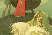 The Prydain Chronicles / Books by Lloyd Alexander