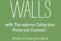 Deck the Walls with The adorne Collection / #adornefortheholidays / by Kasey Williams