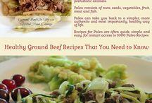 Paleo Ground Beef Healthy Diet