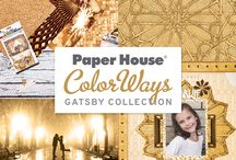 ColorWays Gatsby Collection / Paper House ColorWays Gatsby Collection.