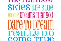 Somewhere over the Rainbow / by Tonya Rush