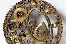 Biżuteria quillingowa