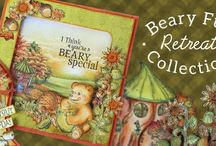 Beary Fun Retreat Collection / Long days filled with sunshine begin to fade and the crisp evening breezes begin to call for cozy wool knit sweaters as the fall season slowly ushers out the lazy days of summer! Along with the falling leaves and a last surge of floral blossoms, autumn brings with it a more relaxed and reflective way of life and a reminder that winter will soon be around the corner.