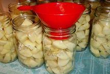 Canning / Armazenar em potes