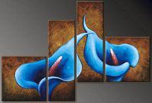 Split Panel Canvas Paintings