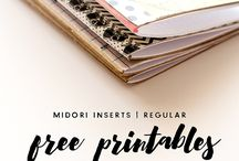 Midori Love / printable's, and planner love!!