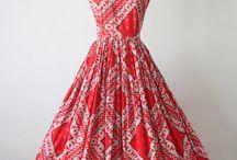 Vintage / Vintage Dresses, Clothes and Such