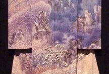 Kimonos by Itchiku Kubota