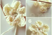 Fancy flower / Crochetn