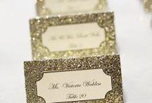 Mariage doré / Gold wedding / doré - mariage - paillette - wedding