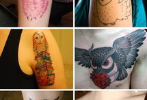 Tattoos / by Rosien
