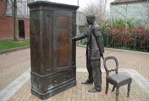 Literary Statues & Art / This board is for lovers of literature and fine art and the relationship between the two mediums.
