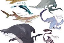 Морские персонажи