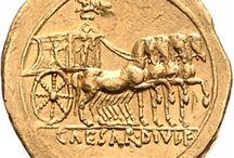 pieces antiques / pieces de monnaies de l'antiquite