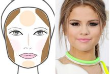 Contouring and highlighting- Round faces