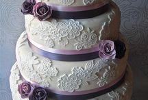 Cut The Cake / Wedding cakes, desserts, food ideas / by Jamie McCraren