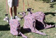 Italian Greyhound Costume