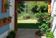 Jardim e espaços externos