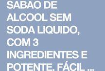Sabão líquido de álcool ótimo
