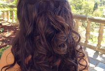 half up half down hairstyles / hairstyles for wedding, prom etc.