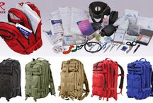 Rothco First Aid / Rothco offers tons of medical bags and trauma kits equipped with all the essential first aid supplies you may need in case of an emergency.