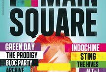 Main Square Festival / Le Main Square Festival est un festival de musique qui se déroule à la citadelle d'Arras pendant le premier week-end de juillet.