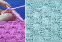 Knitting Stitches and Patterns that I like